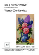 Wernisarz wystawy wandy Zienkiewicz 23.02.2018 MOK Zabrów